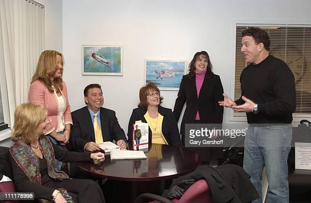 Kimberly Dick Michelle Lubow Hugo Bernal Sheila Brown Jennifer Tuttle and Jake Steinfeld