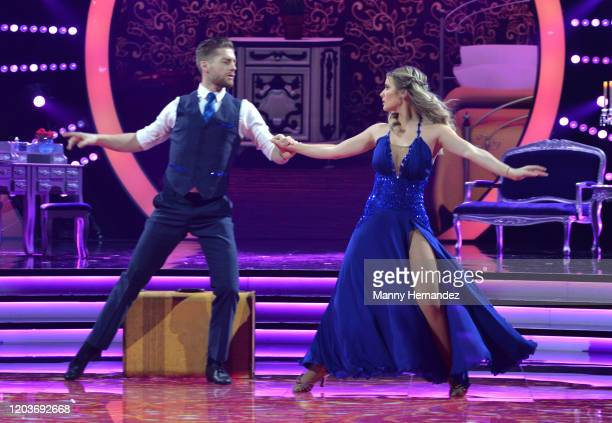 Kimberly Dos Ramos at Mira Quien Baila All Stars Week 4 at Univision Studios in Miami FL on February 2 2020 This week's episode featured tributes to...