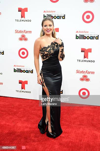 Kimberly Dos Ramos attends the 2014 Billboard Latin Music Awards at Bank United Center on April 24 2014 in Miami Florida