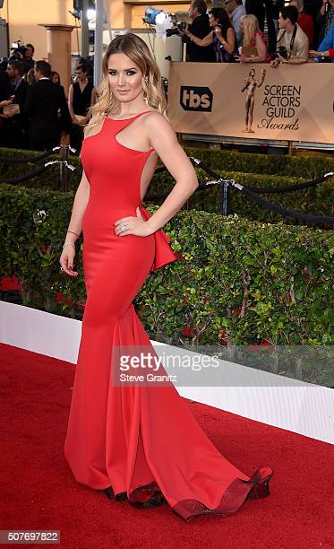 Kimberly Dos Ramos attends the 22nd Annual Screen Actors Guild Awards at The Shrine Auditorium on January 30 2016 in Los Angeles California