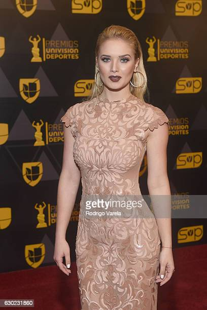 Kimberly Dos Ramos attends the Premios Univision Deportes 2016 at Univision Studios on December 18 2016 in Miami Florida