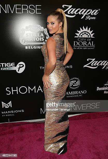 Kimberly dos Ramos attends the Venue Magazine Official Miss Universe after party at Trump National Doral on January 25 2015 in Doral Florida