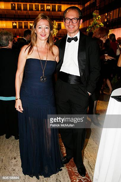 Kimberly DuRoss and Louis Bofferding attend NEW YORK CITY OPERA's FALL FETE A French Celebration at New York State Theater on October 2 2007 in New...
