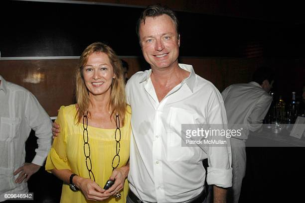 Kimberly DuRoss and Paul Beirne attend BOB COLACELLO Party for His New Book OUT at The Raleigh Hotel on December 6 2007 in Miami Beach FL