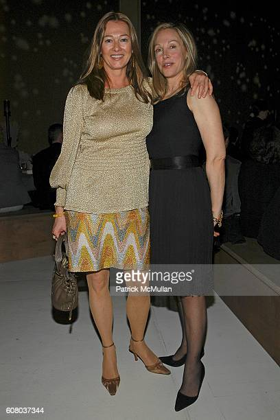 Kimberly Duross and Roberta Amon attend 11th Annual Holiday Dinner Honoring DONNA KARAN and Benefiting ACRIA at The Stephen Weiss Studio on December...