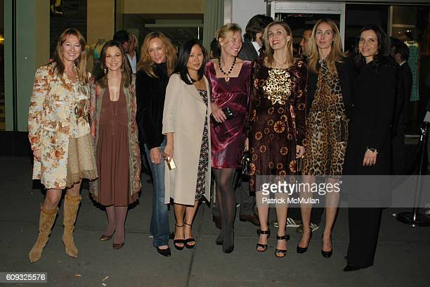 Kimberly DuRoss Bettina Zilkha Patty Raynes Lillian von Stauffenberg Renee Rockefeller Allegra Hicks and attend ALLEGRA HICKS Boutique Opening at...