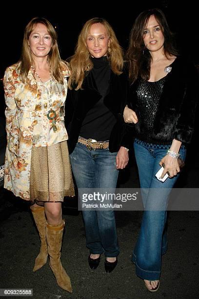 Kimberly DuRoss Patty Raynes and Maria Snyder attend ALLEGRA HICKS Boutique Opening at Allegra Hicks on March 14 2007 in New York City