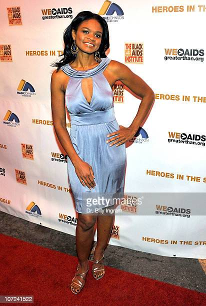 Kimberly Elise attends the 10th Annual Heroes in the Struggle Gala at the Avalon on December 1 2010 in Hollywood California