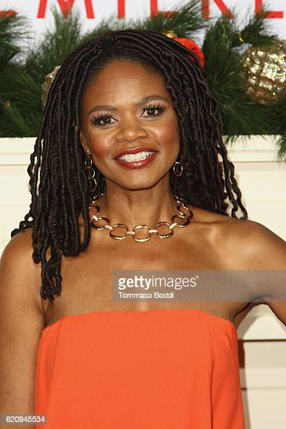 Kimberly Elise attends the premiere of Universal's Almost Christmas at Regency Village Theatre on November 3 2016 in Westwood California