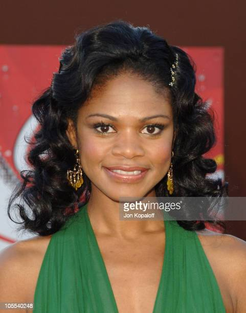 Kimberly Elise during 10th Annual Soul Train Lady of Soul Awards Arrivals at Pasadena Civic Auditorium in Pasadena California United States