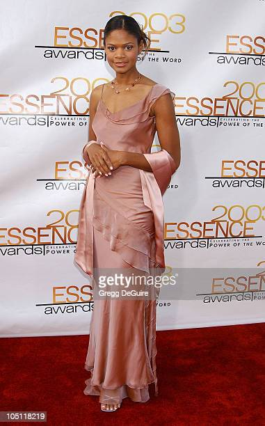 Kimberly Elise during 2003 Essence Awards Arrivals at Kodak Theatre in Hollywood California United States