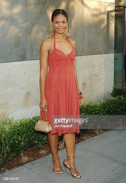 Kimberly Elise during CBS Summer 2005 Press Tour Party at Hammer Museum in Westwood California United States
