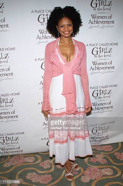 Kimberly Elise during Girlz in the Hood Luncheon Celebrating Women of Achievement Awards to Benefit A Place Called Home at Beverly Hills Hotel in...