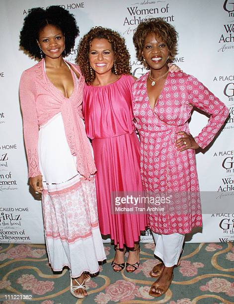 Kimberly Elise Sanaa Hamri and Alfre Woodard during Girlz in the Hood Luncheon Celebrating Women of Achievement Awards to Benefit A Place Called Home...