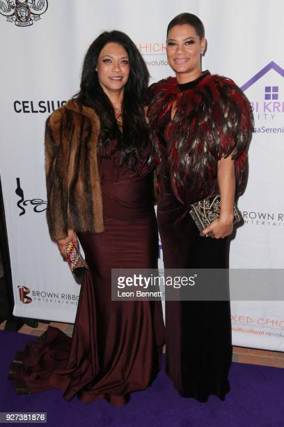 Kimberly Etheridge and Alicia EtheredgeBrown attends Bobbi Kristina Serenity House Gala at Taglyan Cultural Complex on March 4 2018 in Hollywood...