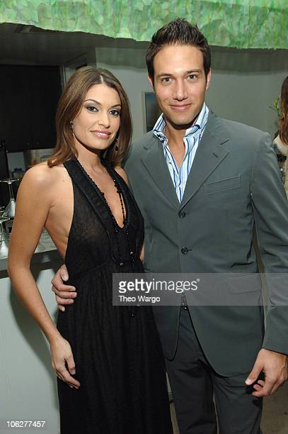 Kimberly G. Newssome and Eric Villency during Sari Gueron Holiday Party and 2006 Collection at Maurice Villency in New York City, New York, United...