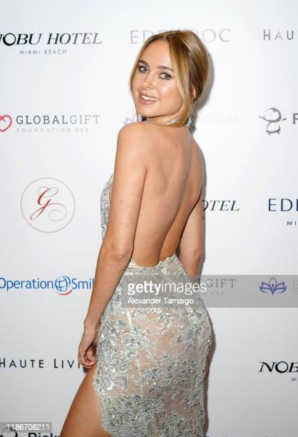 Kimberly Gana is seen at the Global Gift Gala during Art Basel 2019 at the Eden Roc Hotel on December 5, 2019 in Miami Beach, Florida.