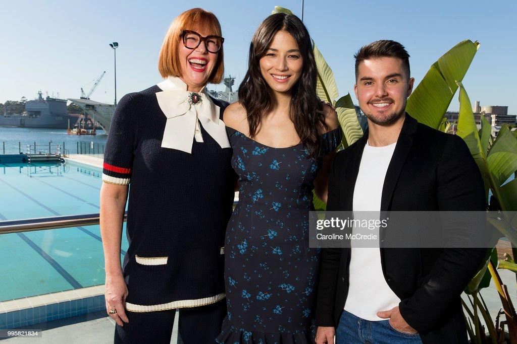 David Jones Spring Summer 18 Collections Launch Model Castings - Sydney : News Photo