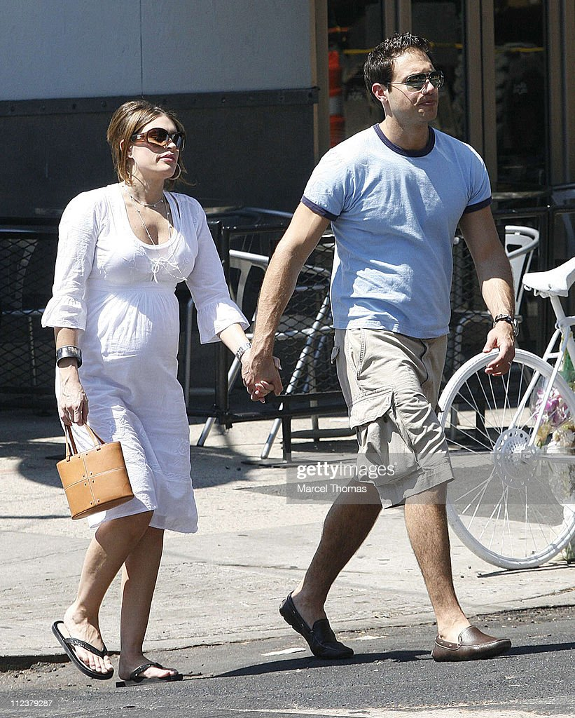 Kimberly Guilfoyle and Husband Eric Villency Sighting in Soho After Lunching at
