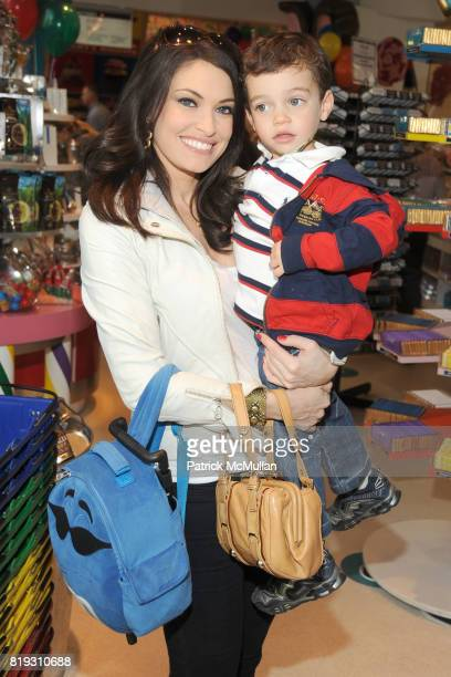 Kimberly Guilfoyle and Ronan Villency attend DYLAN'S CANDY BAR hosts Sweet Adoptions for The ASPCA at Dylan's Candy Bar on April 24 2010 in New York...