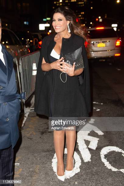 Kimberly Guilfoyle at the Jeremy Scott fashion show on February 8 2019 in New York City