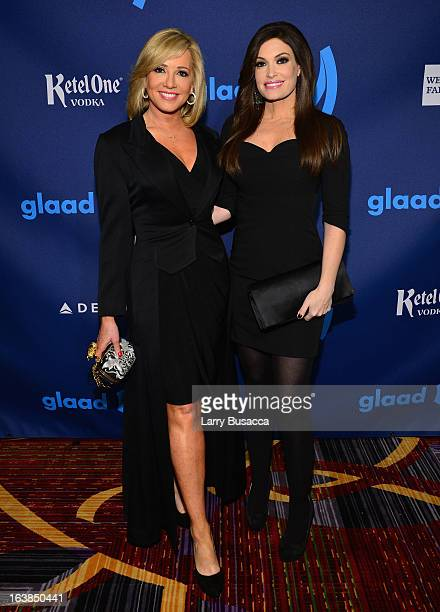 Kimberly Guilfoyle attends the 24th Annual GLAAD Media Awards on March 16 2013 in New York City
