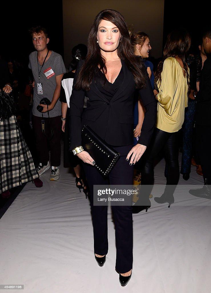 Vivienne Tam - Front Row - Mercedes-Benz Fashion Week Spring 2015 : News Photo