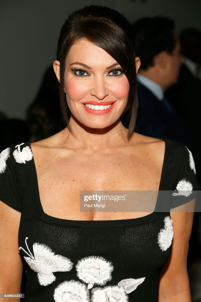 Kimberly Guilfoyle attends the Zang Toi fashion show during New York Fashion Week: The Shows at Gallery 3, Skylight Clarkson Sq on September 13, 2017 in New York City.