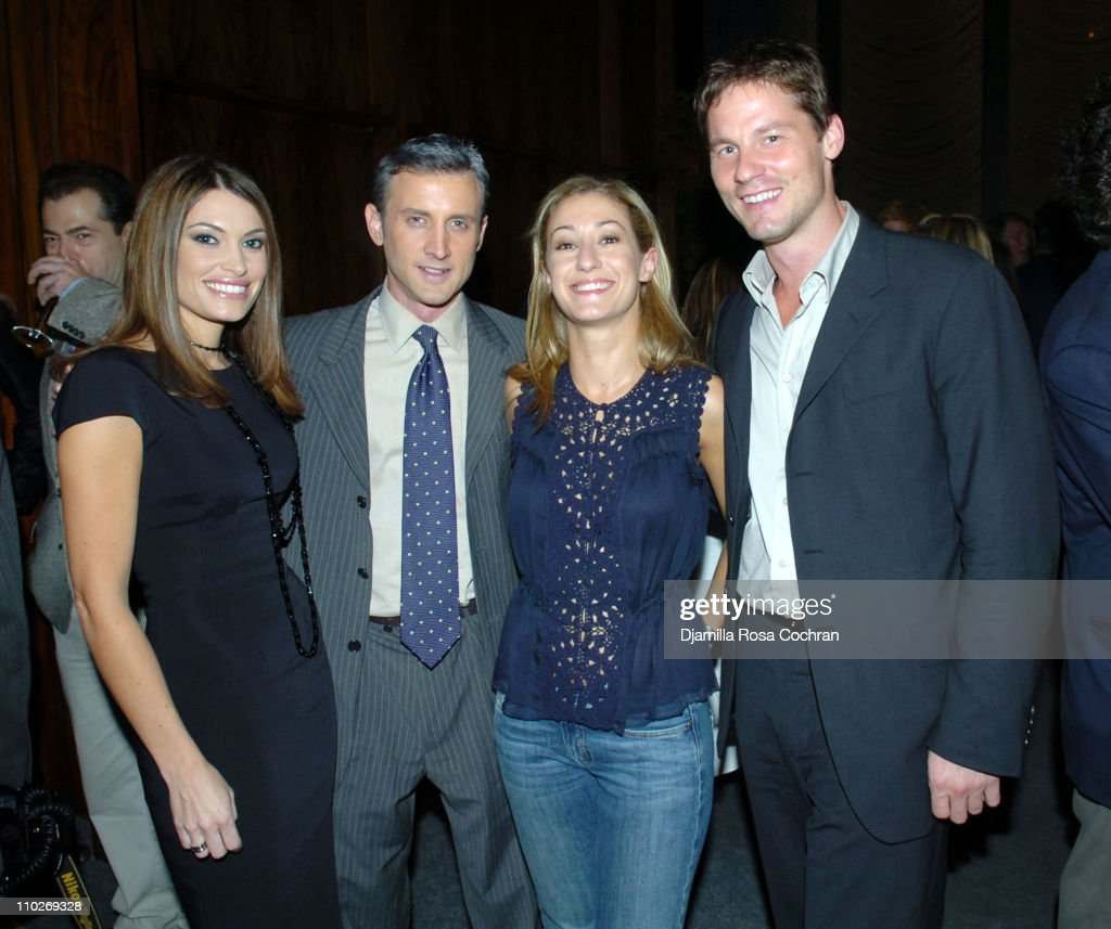 Richard Johnson Engagement Party - September 27, 2005 : News Photo