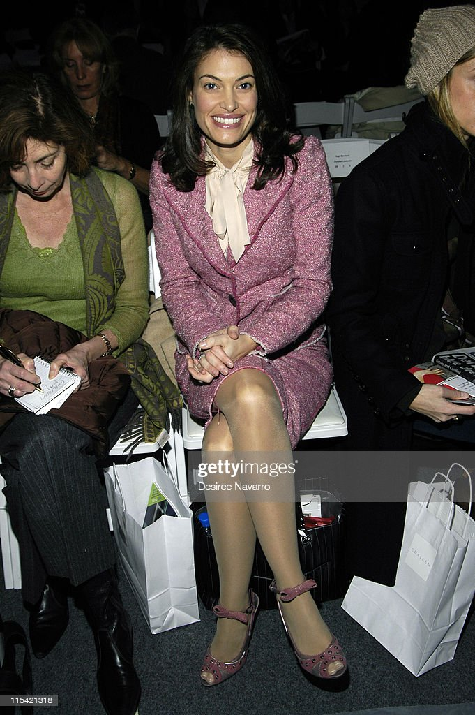 Olympus Fashion Week Fall 2006 - Chaiken - Front Row and Backstage