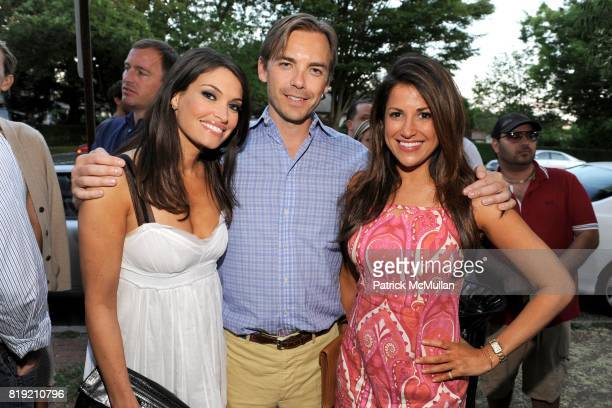 Kimberly Guilfoyle Ian Woods and Gigi Stone attend JOGO By POONEH Opening at Jogo on July 31 2010 in Bridgehampton NY