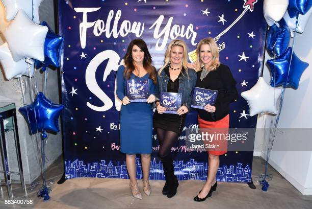 Kimberly Guilfoyle Margo Manhattan and Cheryl Casone attend Follow Your Star Book Launch at 800 B Fifth Avenue on November 30 2017 in New York City