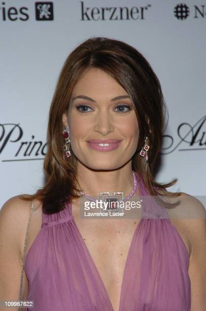 Kimberly Guilfoyle Newsom during 2004 Princess Grace Awards Gala Arrivals at Ciprianis in New York City New York United States