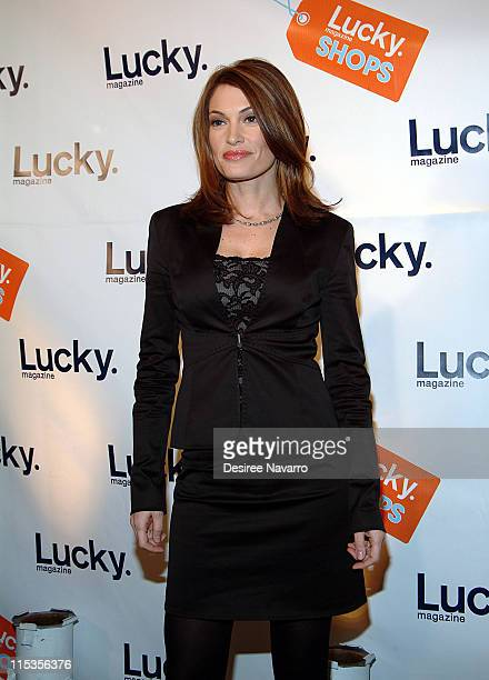"""Kimberly Guilfoyle Newsom during Lucky Magazine Hosts """"Lucky Shops"""" Fundraiser Benefiting The Robin Hood Foundation at Gotham Hall in New York City,..."""