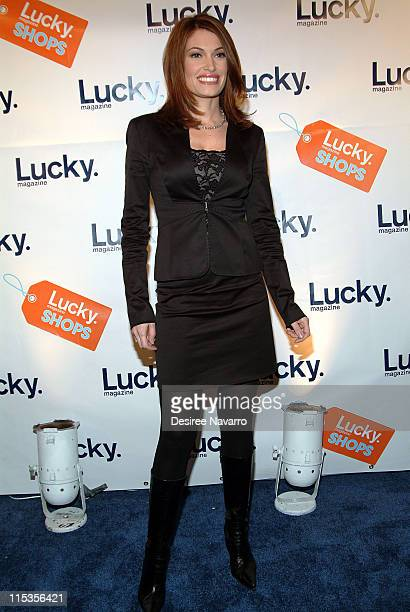 Kimberly Guilfoyle Newsom during Lucky Magazine Hosts Lucky Shops Fundraiser Benefiting The Robin Hood Foundation at Gotham Hall in New York City New...