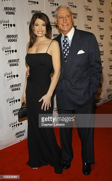 Kimberly Guilfoyle Newsome and Henry Schleiff during The 15th Annual GLAAD Media Awards at The Marriott Marquis in New York City New York United...