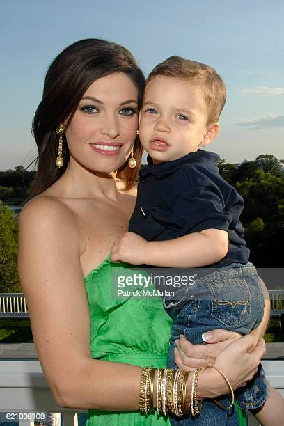 Kimberly Guilfoyle Villency and Ronan Villency attend A Taste of the Good Life with BEST LIFE Sunset Cocktail Party at Private Residence on August 16...