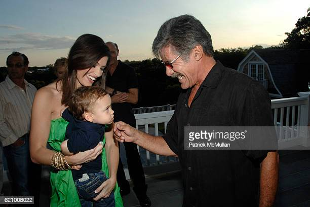 Kimberly Guilfoyle Villency Ronan Villency and Geraldo Rivera attend A Taste of the Good Life with BEST LIFE Sunset Cocktail Party at Private...