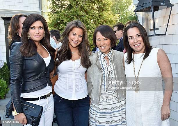 Kimberly Guillfoyle Gigi StoneWoods Alina Cho and Samantha Yanks attend the Hamptons Magazine Celebration of Its Memorial Day KickOff Event With...