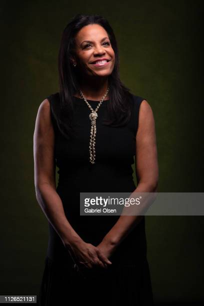 Kimberly Hatchett poses for a portrait at Morgan Stanley presents Alfre Woodard's 10th Annual Sistahs' Soiree on February 20 2019 in Los Angeles...