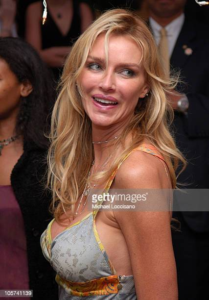 Kimberly Hefner during Usher Hosts a Fundraiser for His New Look Foundation at Capitale in New York City New York United States