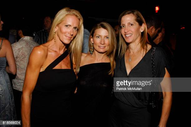 Kimberly Hipp Kris Cooper and Jill Schecter attend Countess LuAnn de Lesseps Salutes Ace Partnership and Wanda Murphy at Lily Pond on August 6 2010...