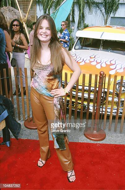 Kimberly J Brown during The 2000 Teen Choice Awards at Barker Hanger in Santa Monica California United States