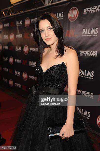 Kimberly Kane arrives at the 2010 AVN Awards at the Pearl at The Palms Casino Resort on January 9 2010 in Las Vegas Nevada