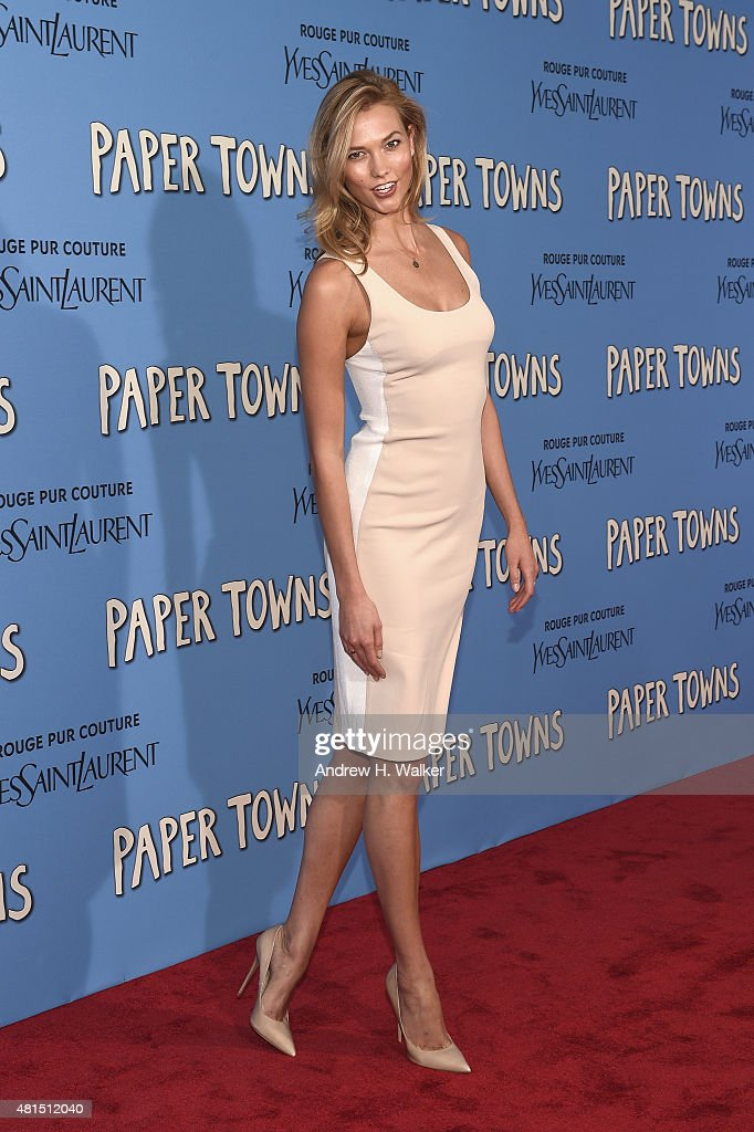 """""""Paper Towns"""" New  York Premiere - Inside Arrivals : News Photo"""