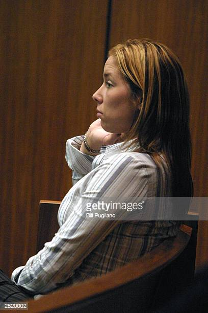 Kimberly Mathers exwife of Rapper Eminem sits in Macomb County Circuit Court waiting for her appearance before Judge Edward Servitto at Macomb County...
