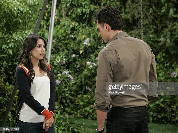 HOSPITAL Kimberly McCullough and Jason Thompson in a scene that airs the week of September 6 2010 on ABC Daytime's 'General Hospital' 'General...