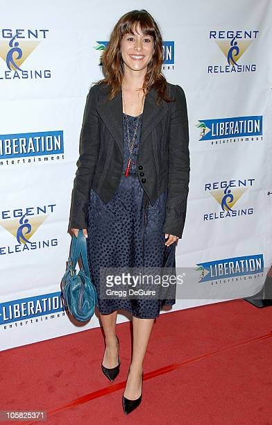 Kimberly McCullough during 'Stephanie Daley' Los Angeles Screening Arrivals at Regent Showcase Theatre in Hollywood California United States