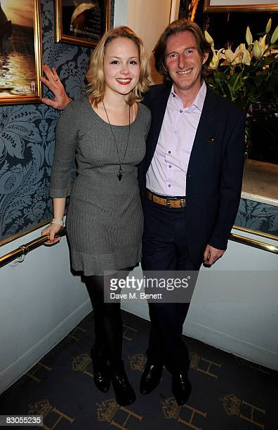 Kimberly Nixon and Adrian Dunbar attend the press night of Girl With A Pearl Earring at the Theatre Royal Haymarket on September 29 2008 in London...