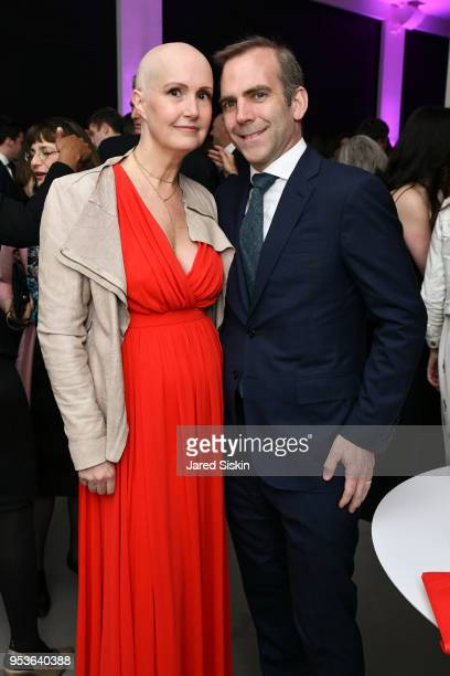 Kimberly Oliver and Stuart SclaterBooth attend Planned Parenthood Of New York City Spring Gala Honoring Cecile Richards And Laverne Cox at Spring...
